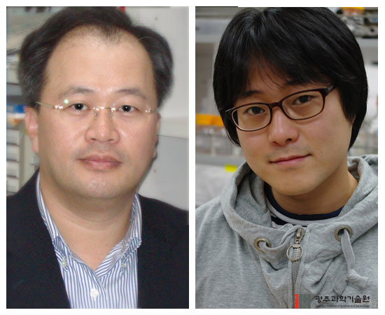 박철승 교수(왼쪽)와 이광민 박사과정생