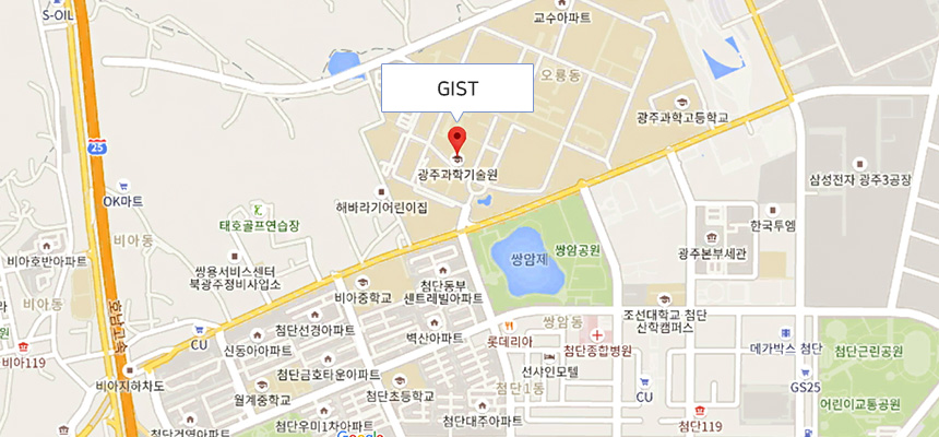 Gwangju Institute of Science and Technology Location